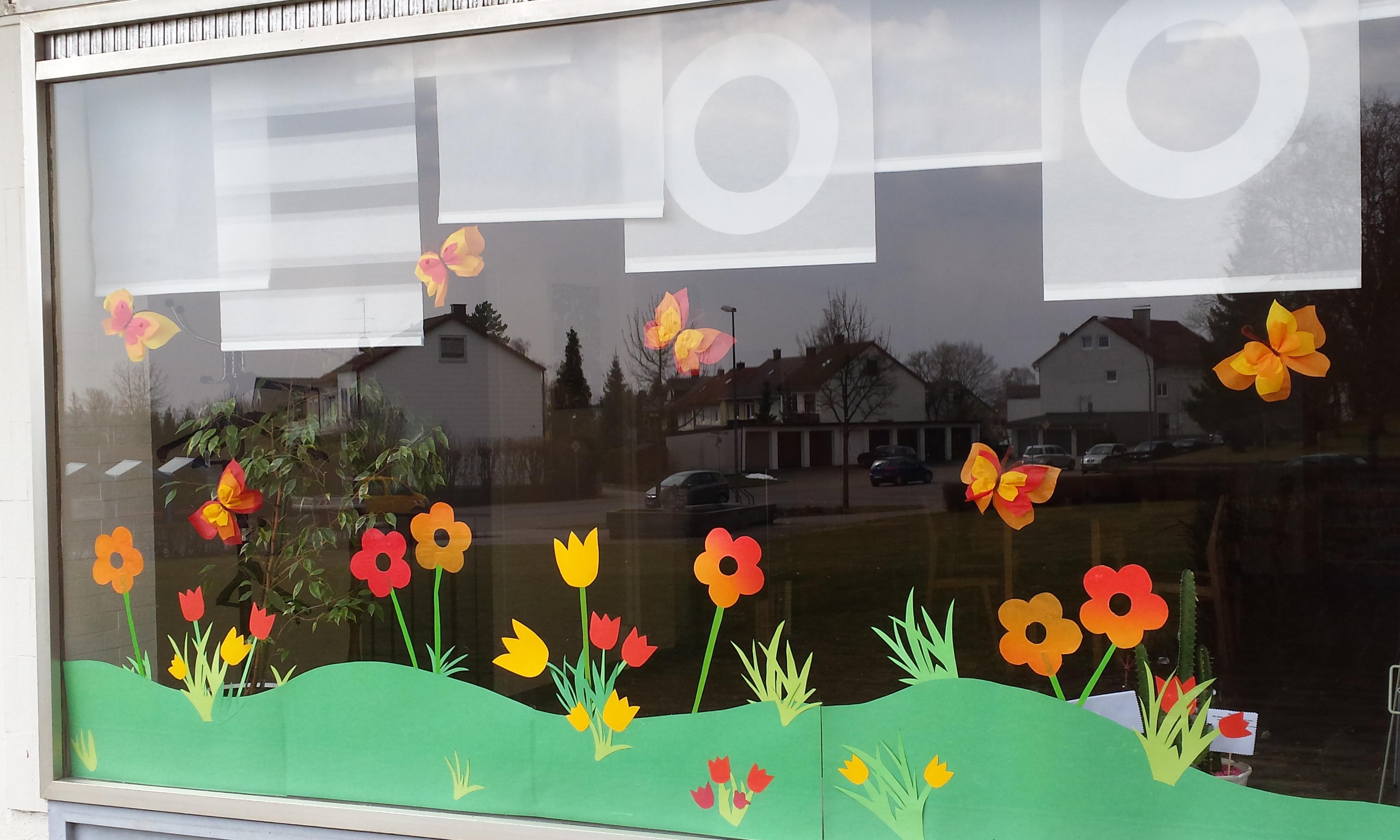 Fensterfront Stadtteiltreff Zanger Berg März 2018