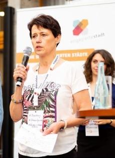 Brigitte Weber beim Vorstellen ihrer Session