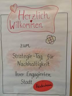 Plakat zum Strategietag